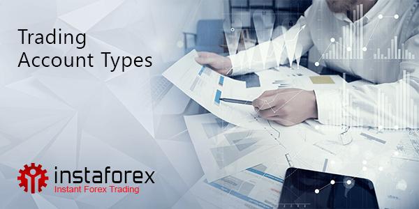 Trading accounts types