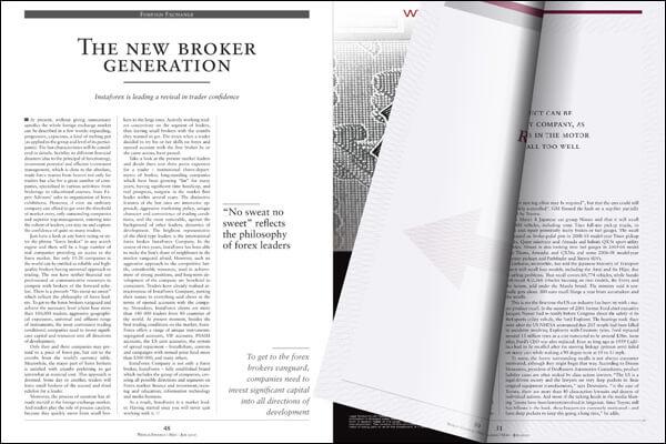 InstaForex Best Forex Broker in Asia 2010