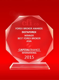 Best Broker Asia 2015 by Capital Finance International