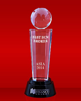 Лучший ECN брокер в Азии 2014 по версии International Finance Magazine