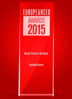 Лучший Форекс-брокер 2015 по версии журнала European CEO