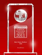 Nagrada Sveta finasije 2011 – Najbolji broker u Aziji