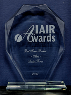 Best Broker in Asia 2012 by IAIR Awards