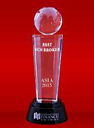 Najbolji ECN broker 2015 prema Međunarodnom finansijskom časopisu (International Finance Magazine)