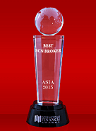 Best ECN Broker 2015 by International Finance Magazine