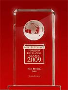 Svetske Finansijske Nagrade 2009 - Najbolji Broker u Aziji