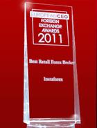Der beste Retail-Broker laut European CEO Awards 2011