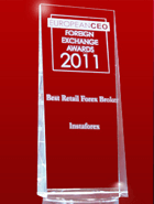 Nagrada European CEO 2011 Awards– Za najboljeg maloprodajnog brokera