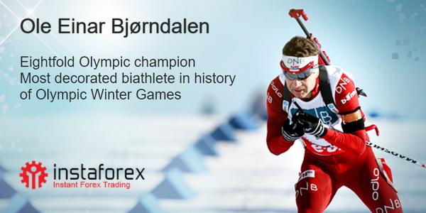 Ole Einar Bjørndalen - brand ambasador InstaForexu