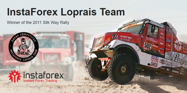 InstaForex Loprais Team – official participant of the Dakar rally