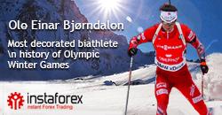 Il re del biathlon Ole-Einar Bjorndalen