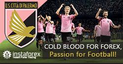 Palermo FC — nuovo partner InstaForex